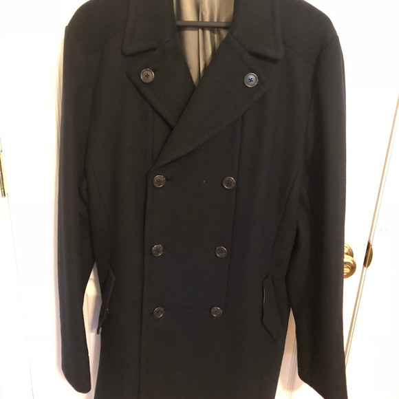 new high skilful manufacture variety styles of 2019 Armani Exchange Peacoat